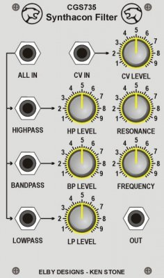 Elby Designs Synthacon Filter