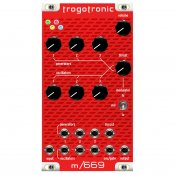 Trogotronic 669/Boss hog Analog Mini Synth Euro module