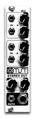 Synthrotek MST Stereo Output Mixer