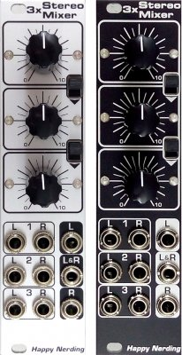 Happy Nerding 3 x Stereo Mixer