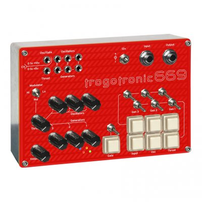 Trogotronic 669/Boss hog Analog Mini Synth