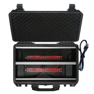 Trogotronic m/168 Collier Case 10A/168hp Splashproof Euro-Case