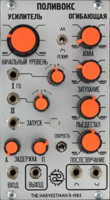 The Harvestman Polivoks VCA/Envelope