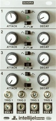 Begagnad Intellijel Designs Quadra