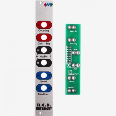 4ms Rotating Clock Divider Breakout DIY Kit