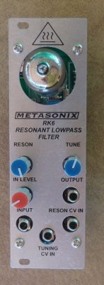 Metasonix RK6 Resonant Lowpass Filter
