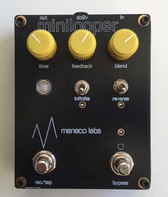Maneco Labs Mini Looper Pedal