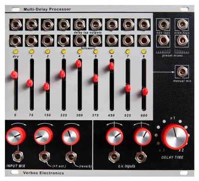 Verbos Electronics Multi-Delay Processor
