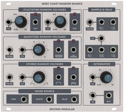 Sputnik Modular West Coast Random Source