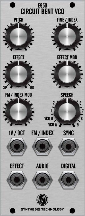 synthtech e950 bent vco - vco - modular