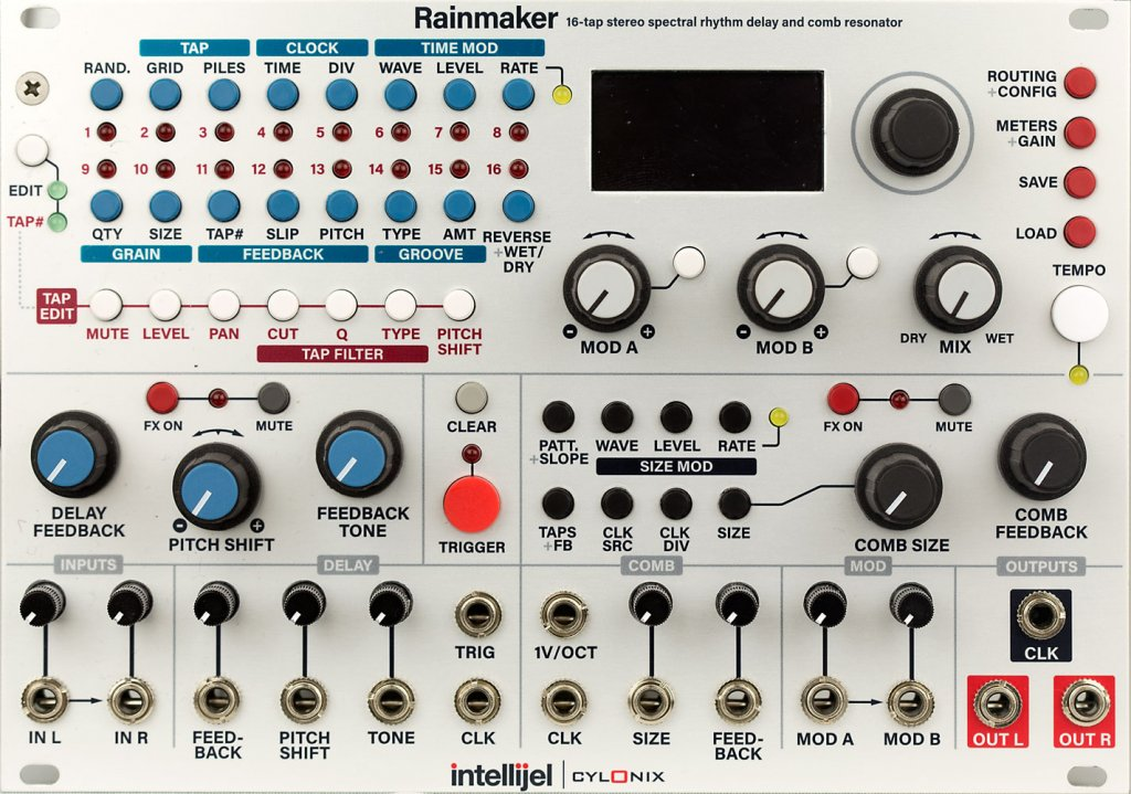Intellijel Designs Rainmaker Modular Escapefromnoise Com