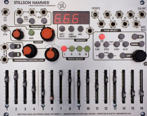 The Harvestman Stillson Hammer mk II - Modular